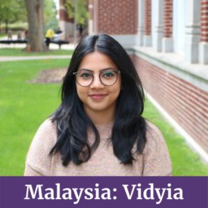 Vidyia from Malaysia