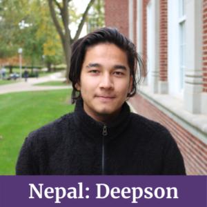 Deepson from Nepal