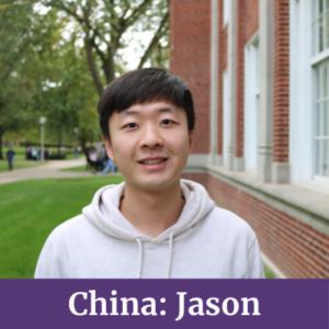 Jason from China