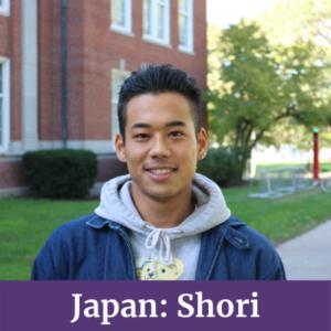 Shori from Japan