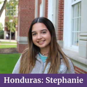 Stephanie from Honduras